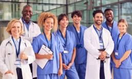 Team of diverse Doctors